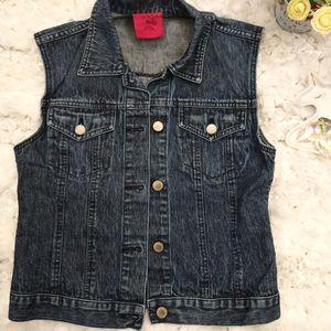 Kids Jean Jacket Vest 100% Cotton
